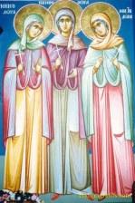 Martyrs Menodora, Metrodora, and Nymphodora