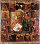 St John with Scenes from his life (17th Century, now in White Lake Museum)